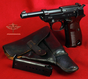 Walther ac45 P38 & Holster