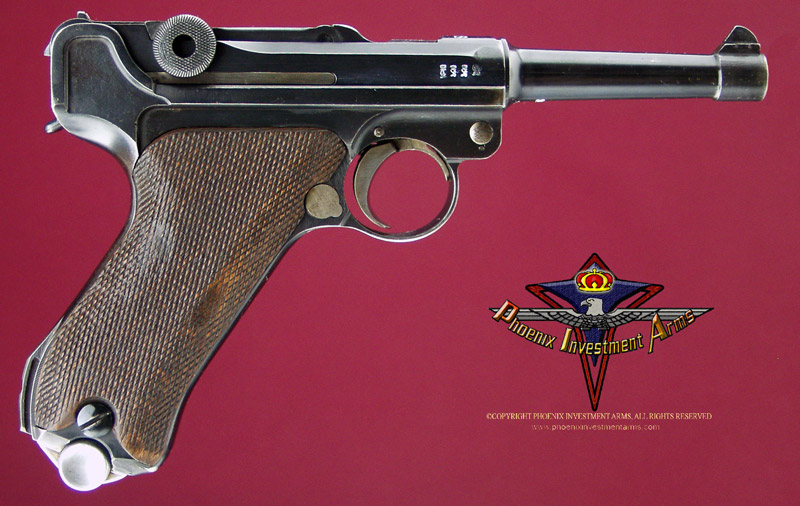 1918/1920 Double Date Luger Imperial Proofs